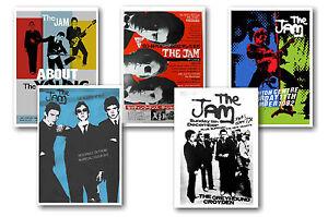THE-JAM-JUEGO-DE-5-A4-PoSTER-IMPRESIONES-2