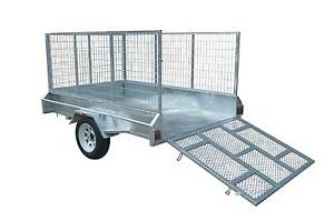 Mower Trailer 8X5 Single Axle Cairns Cairns City Preview