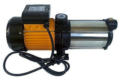 Kreiselpumpe megafixx HMC6SC mehrstufige 6 Edelstahl Laufräder 6,5 BAR 1350 Watt