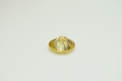 GIA Certified Diamond Loose 1 ct Fancy Yellow Brown Round Brilliant Natural Real 10