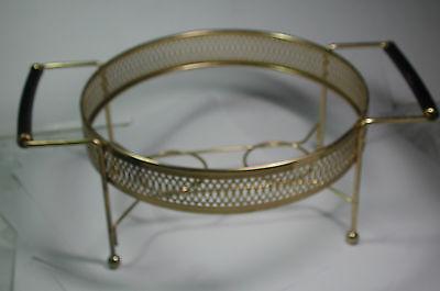 Sterno Trays (New Antique Vintage Retro Brass 9