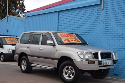 2001 Toyota LandCruiser Wagon- GXL with PERFECT K's 4x4 Enfield Port Adelaide Area Preview