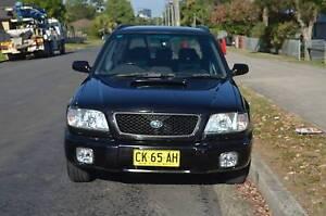 2002 Subaru Forester GT AUTO,AIR,STEER,REGO,BOOKS CHEAP CHEAP Pendle Hill Parramatta Area Preview