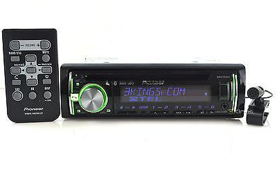 Pioneer DEH-X6600BT In Dash CD Player w/ Bluetooth Front USB Aux New DEHX6600BT on Rummage