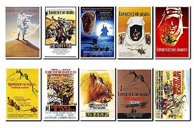 LAWRENCE OF ARABIA -  FILM POSTER POSTCARD SET