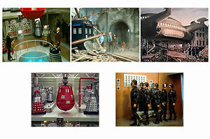 DOCTOR-WHO-DALEKS-INVASION-EARTH-2150-SET-OF-5-A4-PHOTO-PRINTS