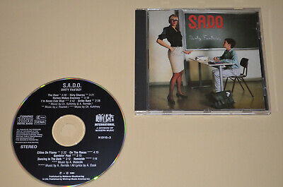 S.A.D.O. - Dirty Fantasy / Noise International 1988 / W. Germany / Rar / SADO