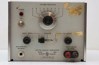 Hp 581a Digital Analog Converter 115230 Vac 10 50-1000 Ps 11 Watts