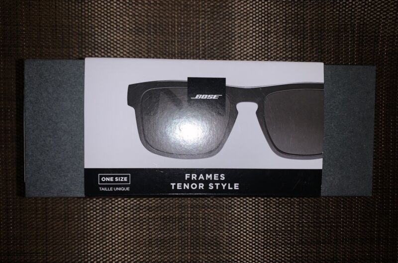 Bose Frames Tenor Style Audio Sunglasses Black One Size Fits All Brand New