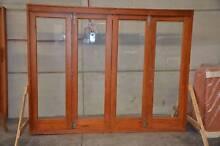 BIFOLD DOOR, STACKING SOLID CEDAR, 2700x2100H, 6MM TOUGHENED GLAS Vineyard Hawkesbury Area Preview