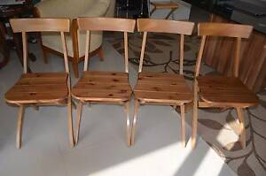 4 x Foldable IKEA chairs Fulham Gardens Charles Sturt Area Preview