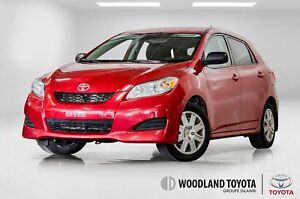 2014 Toyota Matrix AIR CLIMATISE / GROUPE ELECTRIQUE / BLEUTOOTH