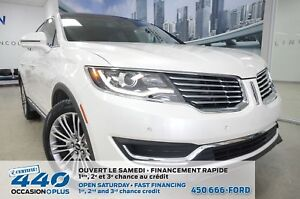 2016 Lincoln MKX | RESERVE 3.7L AWD, CUIR