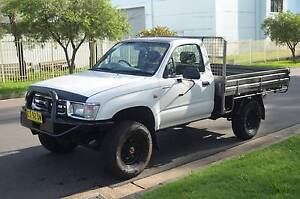 1997 Toyota Hilux Ute 4X4 MANUAL,POWER STEER,REGO,CLEAN CHEAP Pendle Hill Parramatta Area Preview