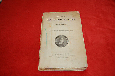 Ancien Libro Explicación Las Grandes Pintores Por María Grandmaison - 41 Grabado
