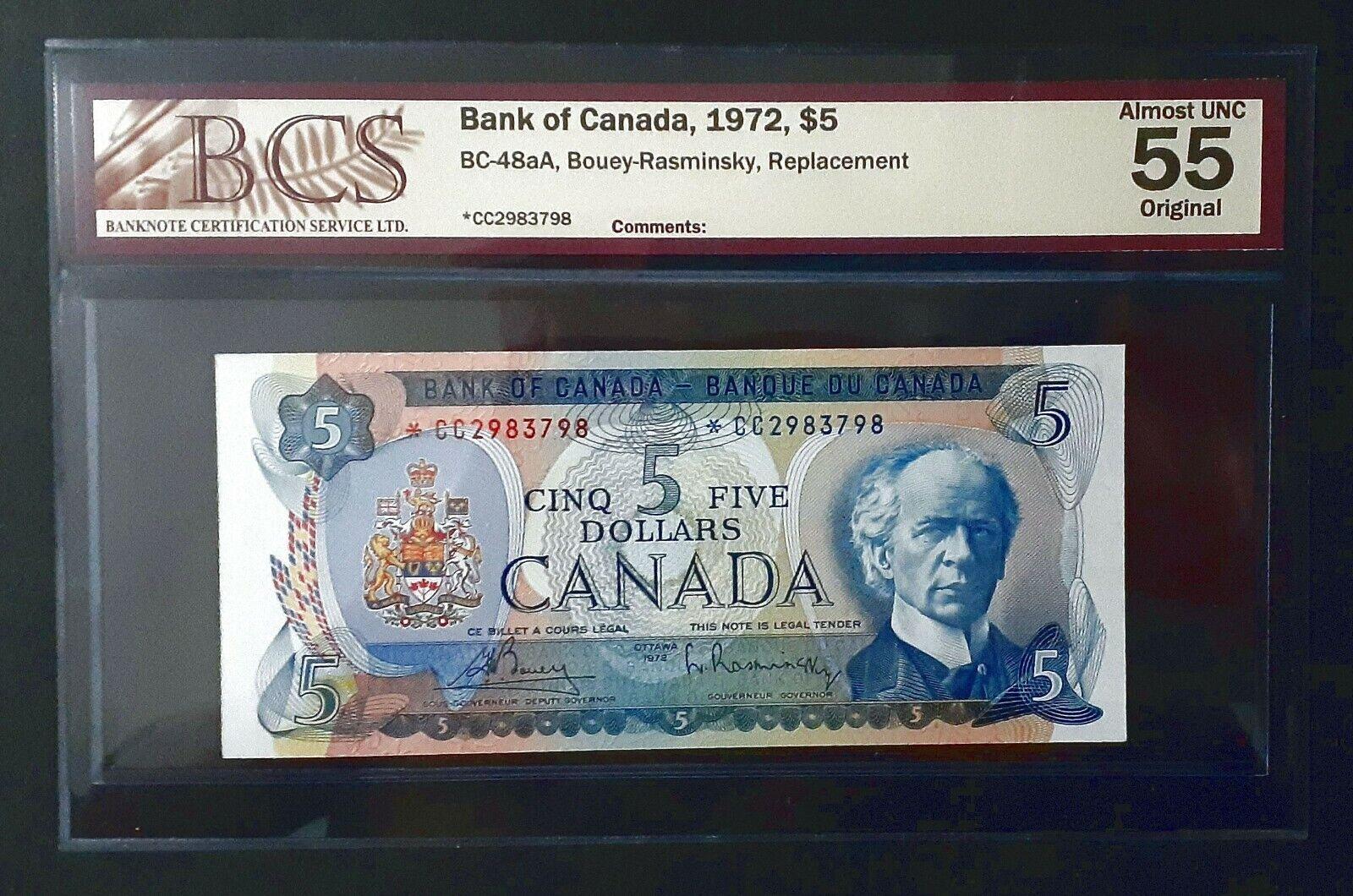 RECTO 5 Dollars Type 1972 - None