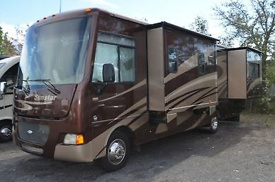 Used 2012 Itasca Sunstar 30T Class A Motor Home RV For Sale, 3 Slide Outs, Nice