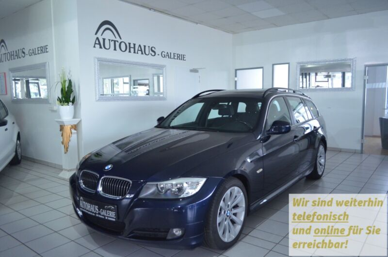BMW 325i Touring Aut.*2.HAND*TEILLEDER*AHK*PANO*PDC
