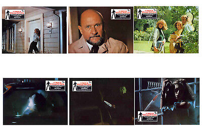 HALLOWEEN  - SET OF 6 - A4 REPRO LOBBY POSTERS # 2