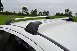 BMW 1 Series F20 Hatch Aerodynamic Roof Rack Cross Bar Ingleburn Campbelltown Area Preview