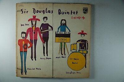 SIR DOUGLAS QUINTET 1+1+1+1=4 PROMO LP PHILIPS WLP Gimmick Cover ORIG INNER