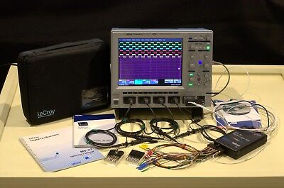 Lecroy Mixed Signal Oscilloscope Wavesurfer 64 Xs With 4 Pp009 Probes And Ms-32