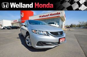 2013 Honda Civic LX | HEATED SEATS | BLUETOOTH AUDIO