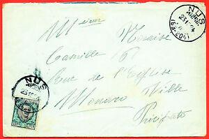 1924-Rarissima-destinazione-da-Nus-Aosta-per-Montecarlo-Lit-1-00-Floreale