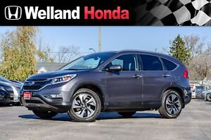 2015 Honda CR-V Touring | NO ACCIDENTS | NAVIGATION | LEATHER