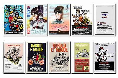 HAROLD AND MAUDE -  FILM POSTER POSTCARD SET