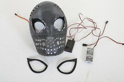 Spiderman Gapless Mechanical Lenses Faceshell Homecoming FFH As Is Needs Repairs