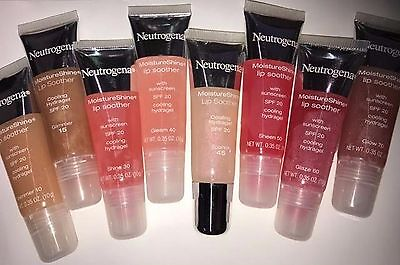 Neutrogena Moisturshine Lip Soother, Choose From 10,15,20,30,40,45,50,60 Or 70  - Neutrogena Lip Sheers