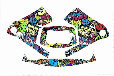3m Speedglas 9100 Fx Auto Sw Jig Welding Helmet Wrap Decal Sticker Grafitti Colo