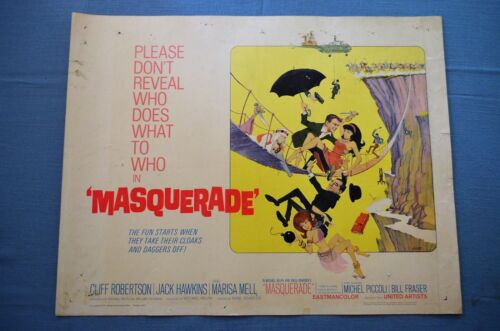 "Vintage Movie Poster, ""Masquerade"" (1965)"