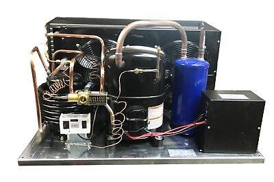 Combp Air+Water LD AGA5561EXT Condensing Unit 5 HP, Medium Temp, R22, 220V/3PH