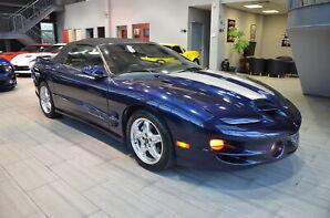 2002 Pontiac Firebird WS6   ** 2dr Convertible ** MANUAL ** VERY LOW KMS