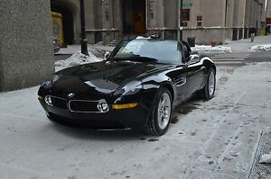 2003-BMW-Z8-Black-Black-6-Speed-Hard-Top-2-Owner-Clean-23K-Miles-Rare-Car