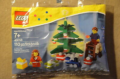 LEGO 40058 Decorating the Tree polybag  NEW Christmas