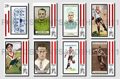 LEYTON ORIENT - CIGARETTE CARD HISTORY 1900-1939 - Collectable postcard set # 2