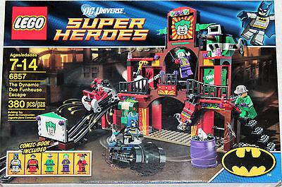 Lego Batman  6857  Dc Universe Super Heroes  The Dynamic Duo Funhouse Escape Nib