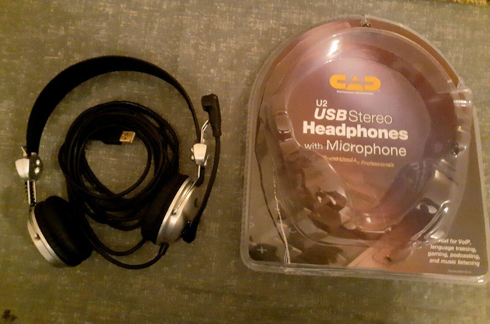 CAD U2 USB Podcasting/Gaming Headphone W/Mic 85th Anniversary Edition  - $33.00