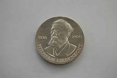 20 Mark Wilhelm Liebknecht DDR 1976 Silber 20,9 Gram Sozialdemokrat Reformer GDR online kaufen