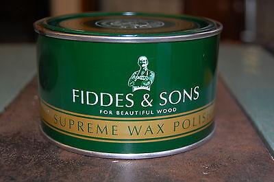 до-1800 FIDDES LIGHT/CLEAR SUPREME WAX POLISH