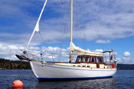 40 Foot Huon Pine Cruising Yacht
