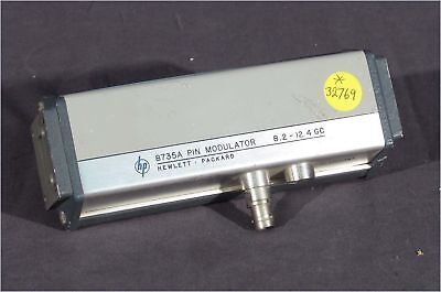 Hp X8735a Rfmicrowave Wr90 Pin Modulator 8.2-12.4gc