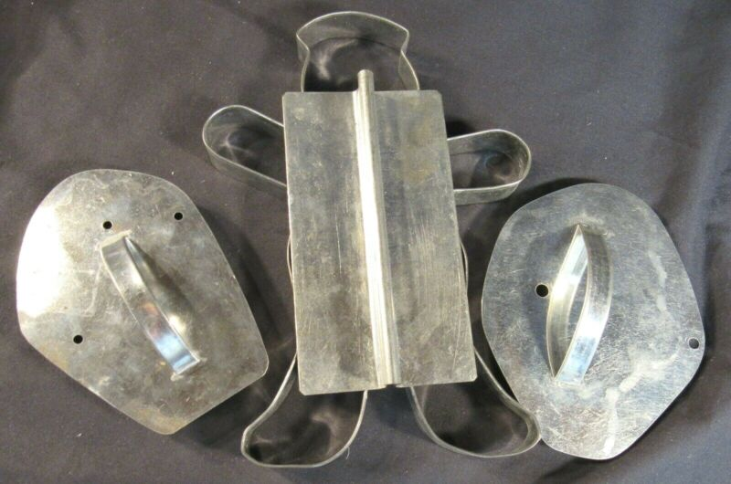 LARGE Metal Cookie Cutter Assortment Set of Six (6)