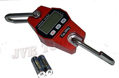 New Digital Hanging Crane Scale 300 Kg600 Lbs Industrial Crane Scale Heavy Duty