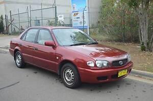2000 Toyota Corolla Sedan MANUAL ,AIR,STEER,LOW KMS,REGO CHEAP Pendle Hill Parramatta Area Preview