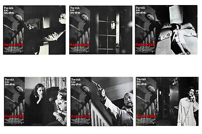 HALLOWEEN  - SET OF 6 - A4 REPRO LOBBY POSTERS # 1