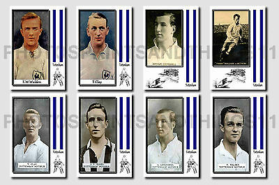 TOTTENHAM -  CIGARETTE CARD HISTORY 1900-1939 - Collectable postcard set # 2